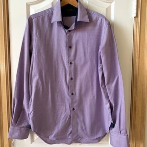 Zara Man purple shirt